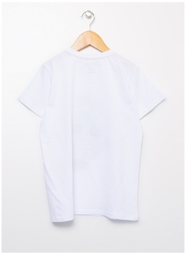 Limon Company Limon Bisiklet Yaka  Beyaz T-Shirt Beyaz